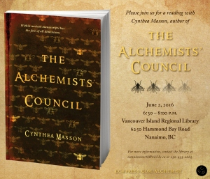 Alchemists Council Reading Invite
