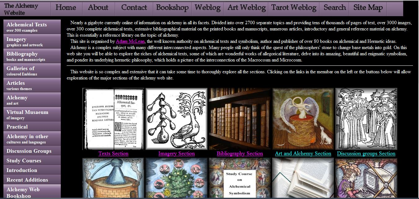 Alchemy Website 2