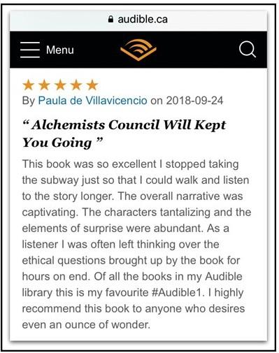 Audible Paula V Review