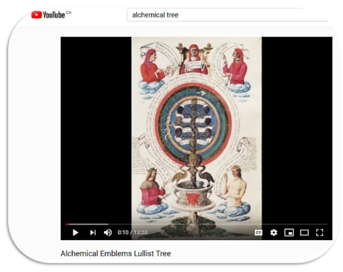 YouTube Alchemical Tree Image