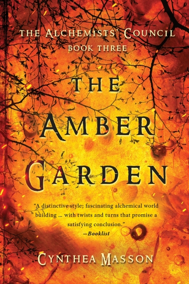 The Amber Garden RGB Book 3 Cover